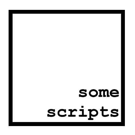 some scripts literary magazine